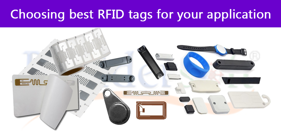Choosing best RFID tags for your application: criteria and step by step guide.