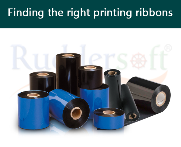 Barcode Printing Ribbons: Finding The Right Barcode Labels And Tags Printing Ribbons.