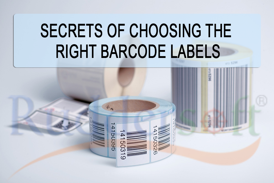 Six Secrets Of Choosing The Right Barcode Labels