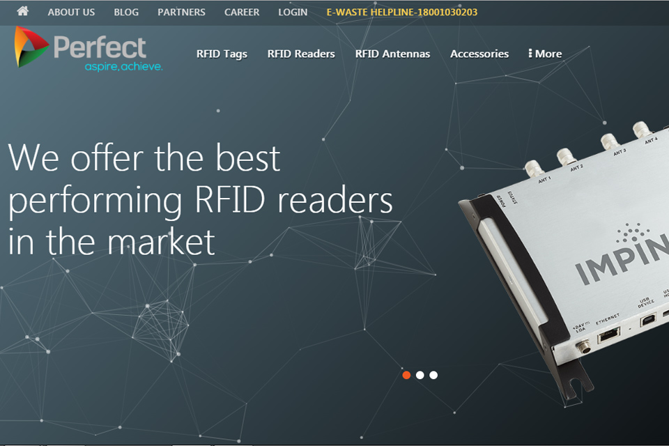 Perfect RFID Website