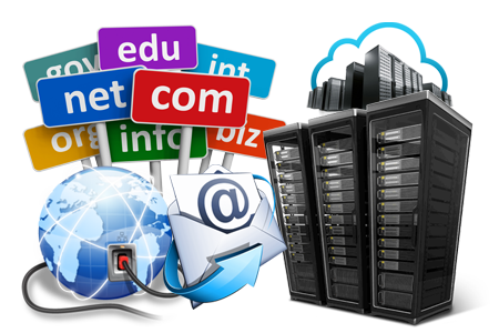 Website and Email Hosting, Domain Name Registration